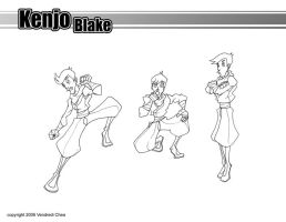 Kenjo Pose Sheet by striderchea