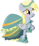 Derpy's Gala Dress REDONE by LottaPotatoSalad