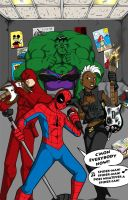 Marvel Rock Band by Gigatoast