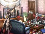 New Year Party With Belmonts by AoRashi21