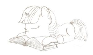 Book pillow by dredaich