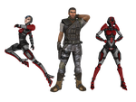 'Borderlands' pack 1 XNA/XPS by lezisell