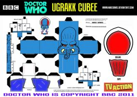 Doctor Who - Ugrakk Cubee by mikedaws