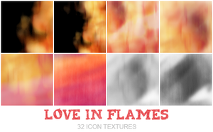 Love in flames by Bourniio