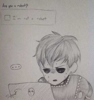Genos. Are You A Robot? by oOCypressOo