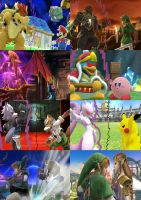 Smash Bros screenshots tests by SuperSaiyanCrash