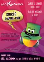 Advertising Poster - Soiree Couvre-Chef by kartine29