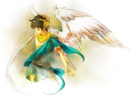HS: Greek God of Breath by Zilleniose
