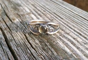 Silver filigree ring view 2 by whippetgirl