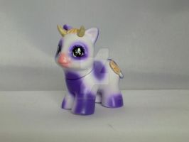 Teeny Tiny Milka Cow by CustomsbyPandabear