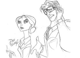 Lois and Clark by me by DaveAlvarez