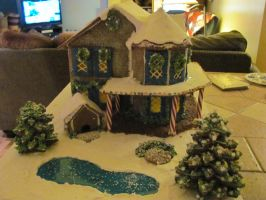 Gingerbread house 2011 by Celestialraven50