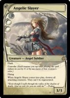 Magic: Angelic Slayer by OokamiCloud