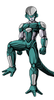 Metal Frieza by RobertoVile