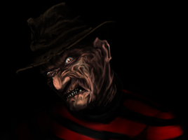 Freddy Krueger by Reenama