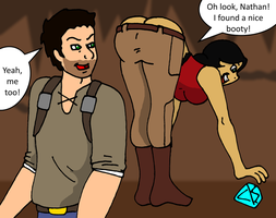 Uncharted Booty commission by PariahExileWrath