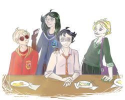 Homestuck: Potterstuck (Beta kids) by mansly