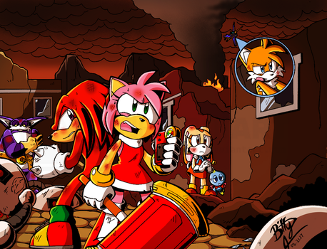 Sonic Forces- We can't give up by NinjaHaku21