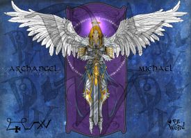 Archangel Michael by clv