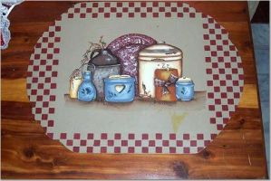 Country Crocks  placemat by didi1959