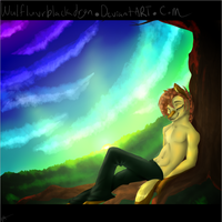 Just to br Quiet by WulfluvrBlackdrgn