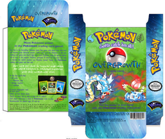Pokemon Overgrowth deck custom box art by SylentEcho88