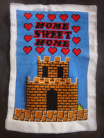 Home Sweet Home x-stitch by NurseTab