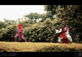 Kurama and Yomi: Confrontation by behindinfinity