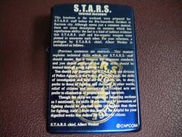 Wesker S.T.A.R.S. Lighter by bluehedgehogX
