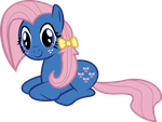 My Litte Pony Bow Tie by Belldandychan