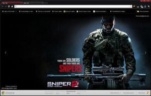 Sniper Ghost Warrior 2 Google Chrome Theme by vrkm2003
