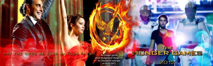 the hunger games plurk background by chuamy