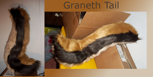 Graneth's tail by caffeinatedcrafts