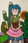 Veka loves cactus  by zanpakatou
