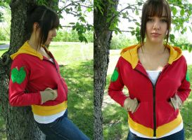 Big Macintosh Jersey Hoodie by Lisa-Lou-Who