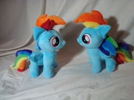 Double Rainbow all the way by PlanetPlush