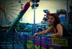 fairground photoshoot:DorotaII by magnesina