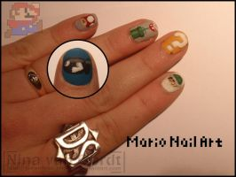 Mario nails by Ninails