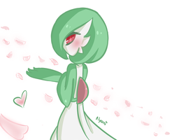 Cute Gardevoir by Nyami-desu