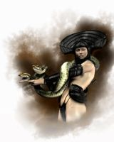 Snake Queen by goor