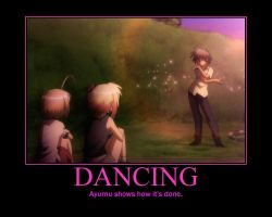 Is this a Zombie? Of The Dead Ayumu Dance by Onikage108