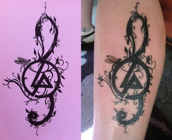 My sketch became a tattoo by XxEchelonReveusexX