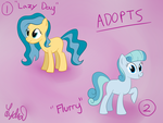 Pony Adopts! (Price Lowered!) by Lydia-Rawr
