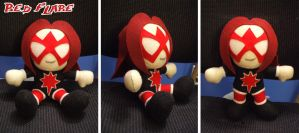Red Flare Chibi Plushie by Red-Flare