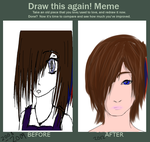 Draw this again Meme by Menokata