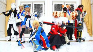 KatsuCon: BLAZBLUE by burloire