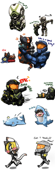Can We Keep It? Rvb Doodles 2 by No-pe