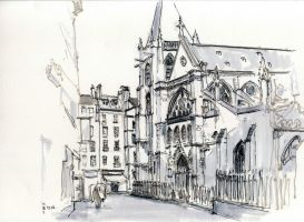 Saint Severin Paris by griffeur