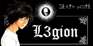 L from Death Note signature by Hikikomori-Otaku