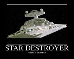 Star Destroyer by Varezart